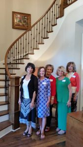 The first ever Grace Place Women's Alliance Steering Committee! Left to Right: Caroline Rudy, Barbara Halcomb, Jody Corley, Patricia Woods, and Kathy Odom