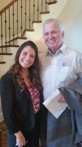 Grace Place Director, Desneige VanCleve, and Grace Place Alliance visionary, Mike Cowart, Sr.